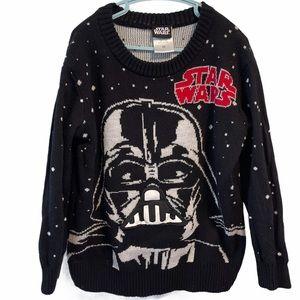 Star Wars Darth Vader black Sweater XS